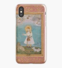 Govardhan, Akbar With Lion and Calf iPhone Case/Skin