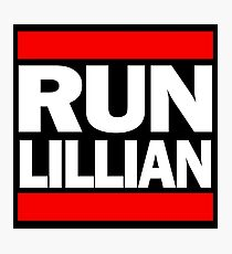 Unbreakable Kimmy Schmidt Inspired Rap Mashup - RUN Lillian - UKS Shirt - Females are Strong as Hell Parody Shirt Photographic Print