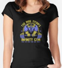 Thanos Gym Women's Fitted Scoop T-Shirt