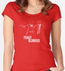 Peaky Blinders Women's Fitted Scoop T-Shirt