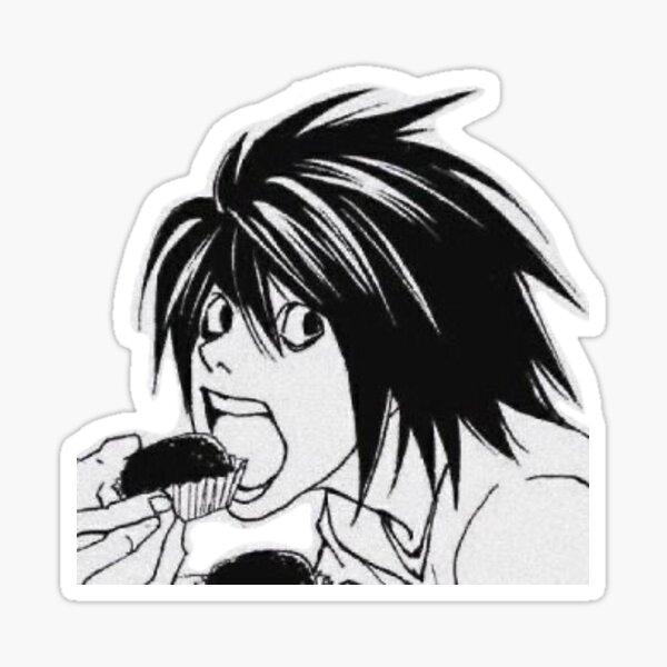 L Lawliet Sticker