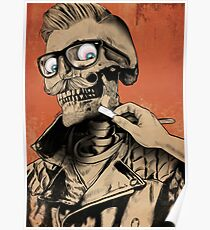Stylish Skull Poster