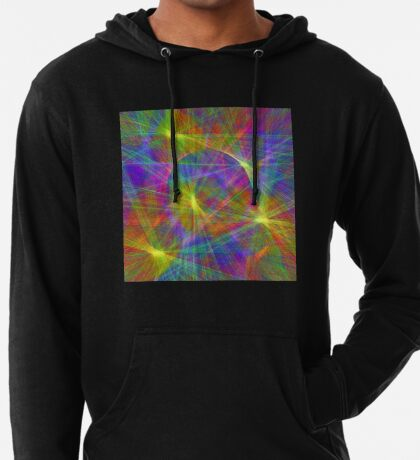 Disco stage lights Lightweight Hoodie