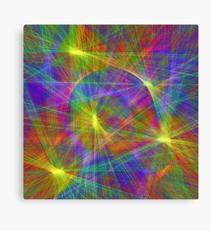 Disco stage lights Canvas Print
