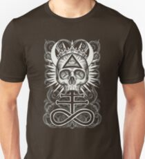 Illuminati Skull and Sulphuric Cross T-Shirt