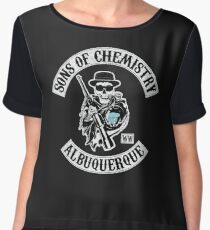 Sons of Chemistry Women's Chiffon Top