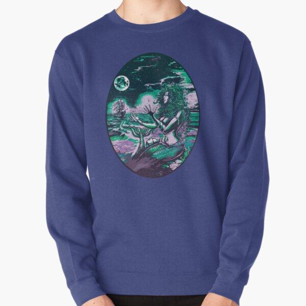 Mermaid Siren Sea Pearl Atlantis Pullover Sweatshirt