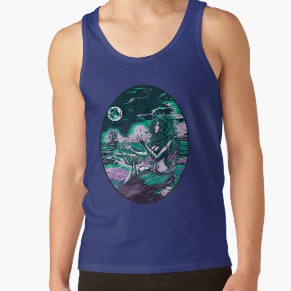 Mermaid Siren Sea Pearl Atlantis Tank Top