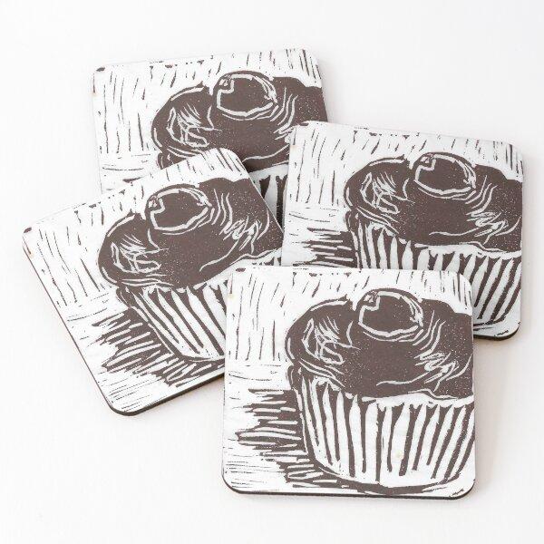 CupCake Coasters (Set of 4)