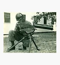 156 Infantry Louisiana National Guard Photographic Print