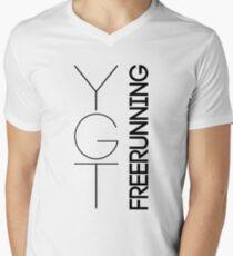 Fundamental YGTee (Black Text) Men's V-Neck T-Shirt
