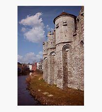 Gravensteen Ghent Photographic Print
