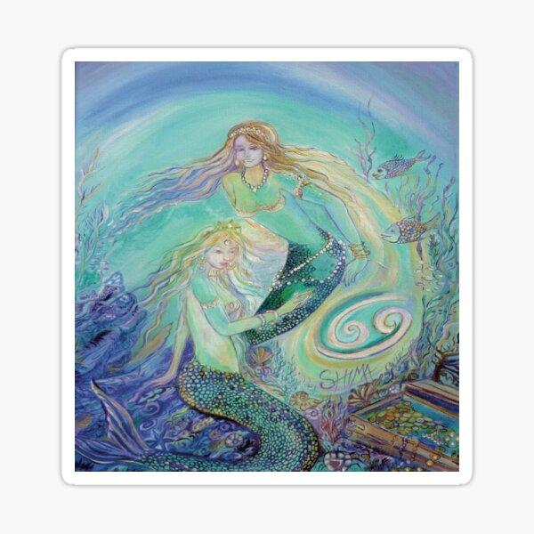 mermaid cancer Sticker