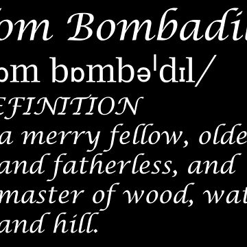 Bombadilian by MintyBadger123