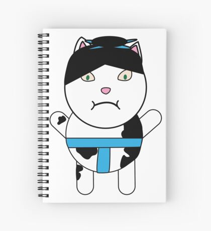 Sumo Kitty Spiral Notebook