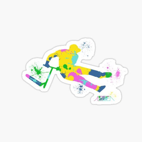 Freestyle en scooter Sticker