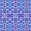 Floral Geometric Pattern by MEDUSA GraphicART