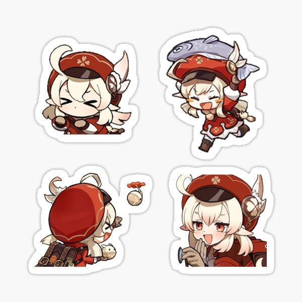 Chibi Klee Genshin Impact Sticker