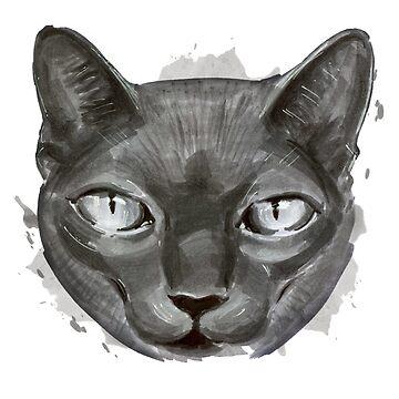 Cat by KKartist