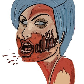 Blue Haired Zombie by ObscureArt