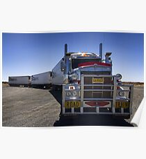 Road Train - Stuart Highway Poster