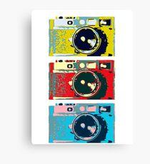 3 Leica M9s Canvas Print