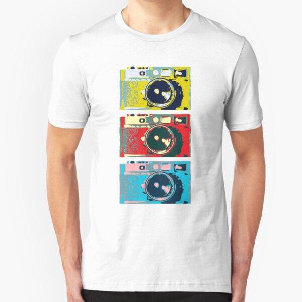 3 Leica M9s Slim Fit T-Shirt