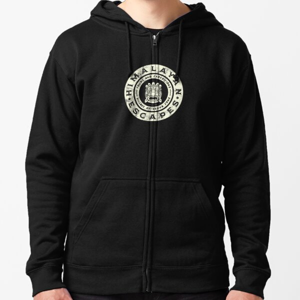 Himalayan Escapes (Expedition Everest) - Theme Park Series Zipped Hoodie
