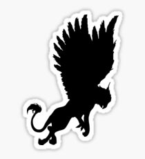 Flying griffin Sticker