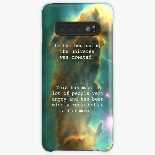 Hitchhiker's Guide Quote Samsung Galaxy Snap Case
