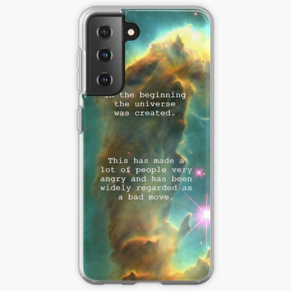 Hitchhiker's Guide Quote Samsung Galaxy Soft Case