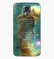 Hitchhiker's Guide Quote Case/Skin for Samsung Galaxy