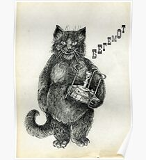 Behemoth the Cat Poster