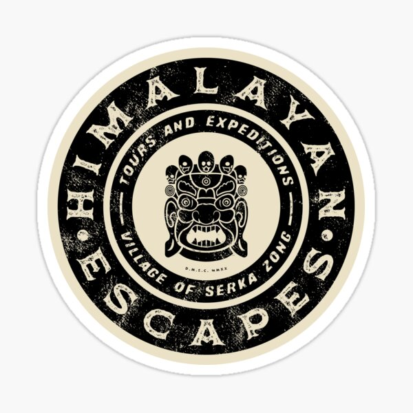 Himalayan Escapes (Expedition Everest) Alternate - Theme Park Series Sticker
