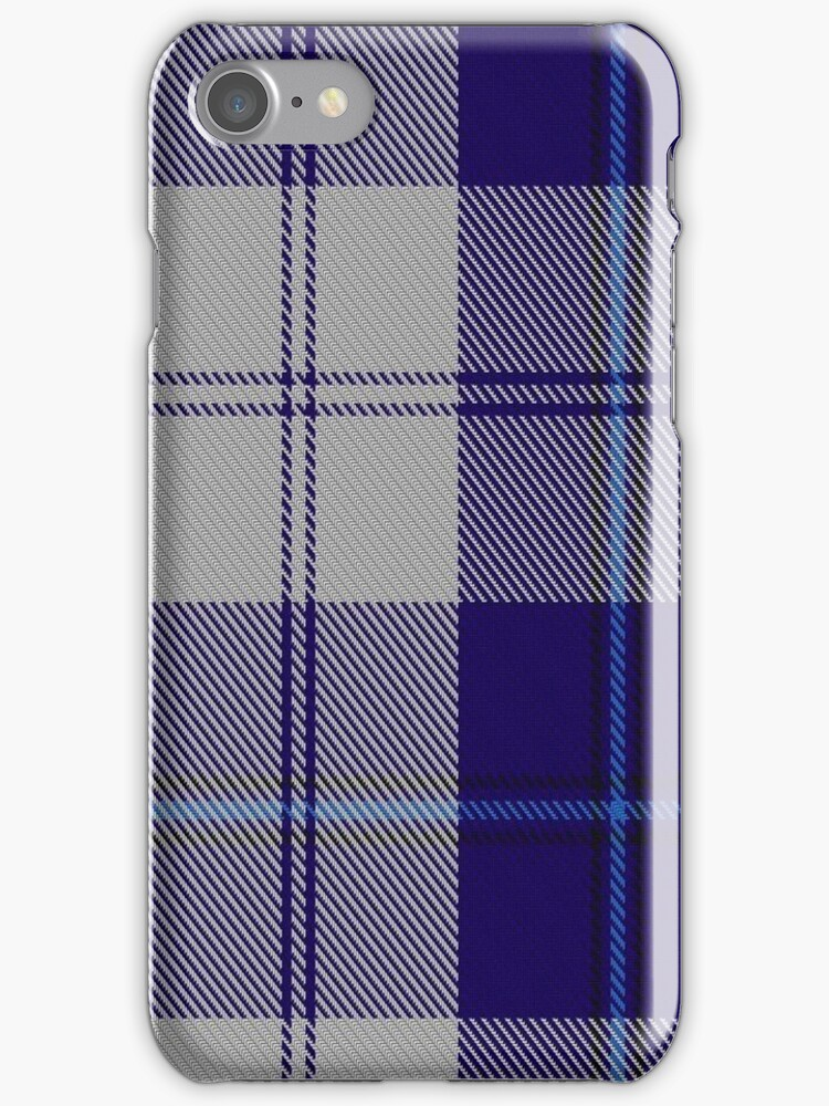 00478 Cunningham Dress Blue Dance Fashion Tartan by Detnecs2013