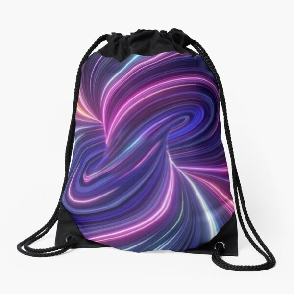 Quantum Theory Proposes That Cause and Effect Can Go In Loops Drawstring Bag