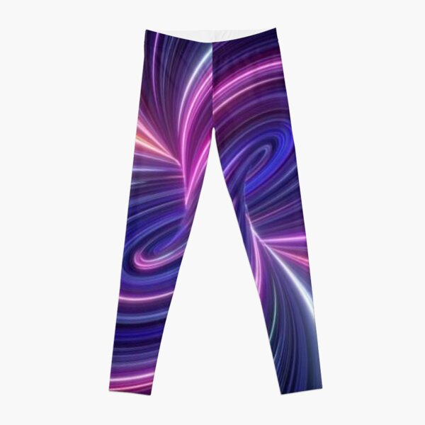 Quantum Theory Proposes That Cause and Effect Can Go In Loops Leggings