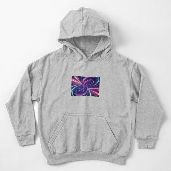 Quantum Theory Proposes That Cause and Effect Can Go In Loops Kids Pullover Hoodie