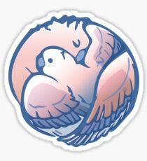 Mommy hug wing Sticker