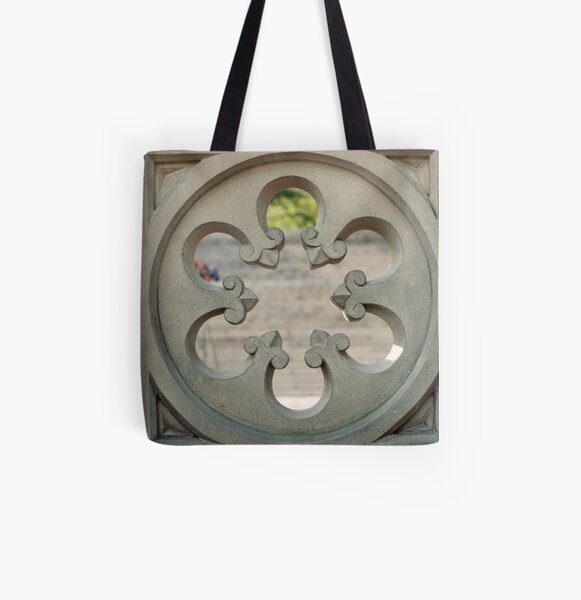 Central Park Architecture All Over Print Tote Bag