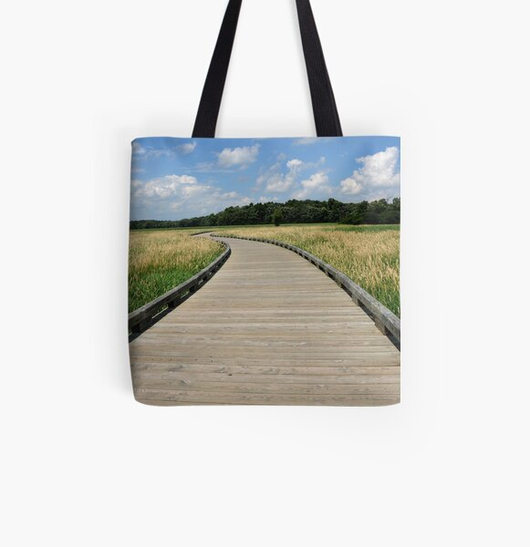 The Path All Over Print Tote Bag