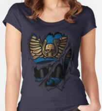 Ultramarines Armor Women's Fitted Scoop T-Shirt