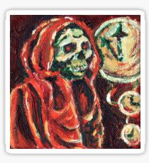 Masque of the Red Death Sticker