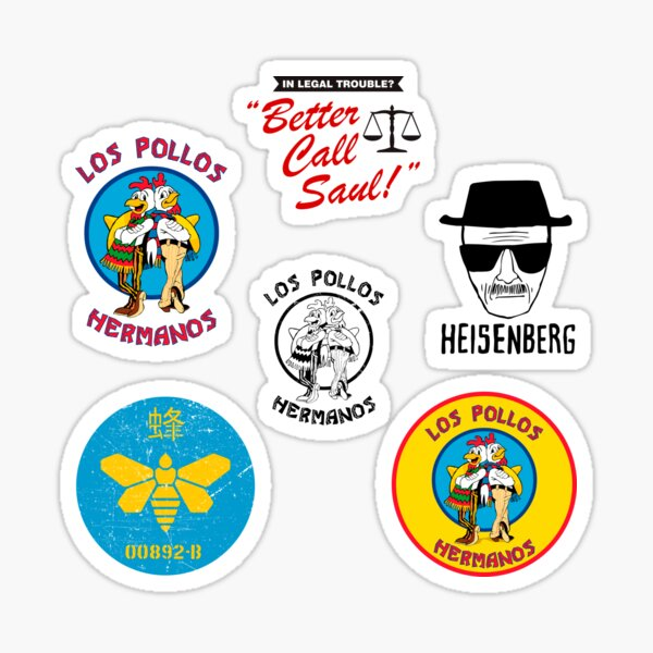 Breaking Bad Stickers Sticker