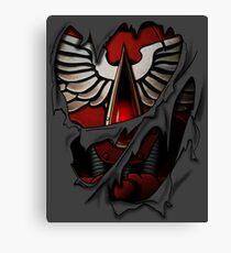 Blood Angels Armor Canvas Print