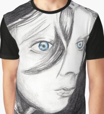 Blue Eyed Girl Graphic T-Shirt