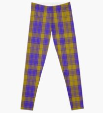 00495 MacLachlan Blue (Chief's Dress) Clan/Family Tartan  Leggings