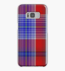 00501 A J Gallacher Tartan  Samsung Galaxy Case/Skin