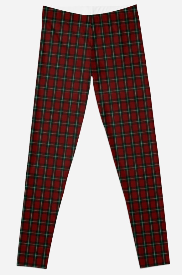 00510 Bacon, Red Tartan  by Detnecs2013