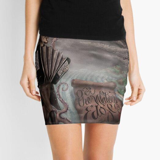 O'er the Water's Edge Mini Skirt